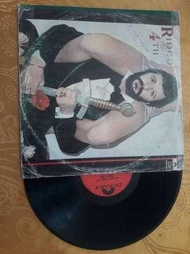 DISCO DE ACETATO ANTIGUO DEL EX BEATLE RINGO STARR del año 1978