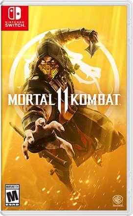 Juego de video Switch Mortal Kombat 11 Nuevo y Sellado