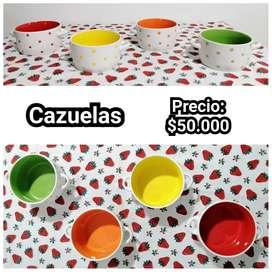Cazuelas x 4