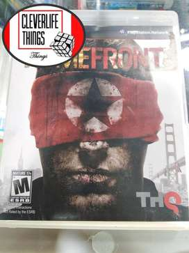 HOMEFRONT JUEGO ORIGINAL USADO OFICIAL PLAY 3 STATION PLAY CON MANUAL