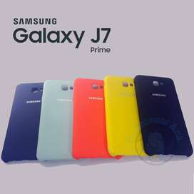 Funda Silicona Silky Soft Samsung Galaxy J7 Prime ORIGINAL