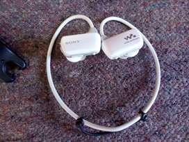 Sony Walkman Mp3 Nwz-w273 Auricular Sumergible