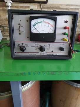 Vendo probador de transistores antiguo  TRIPLET