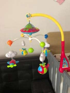 Movil para bebe con luces y sonido