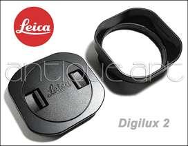 A64 Lens Hood Leica Digilux 2 Parasol + Tapa Lens 28-90mm