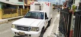 Vendo camioneta furgón refrigerada Ford Ranger 2200 cc