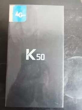 SE VENDE LG K50 NUEVO SELLADO