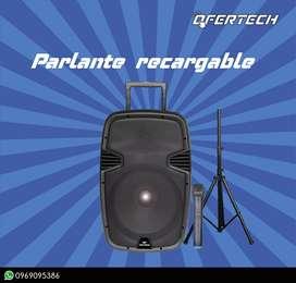 Parlante recargable Tech Power