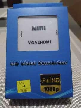 Convertidor de señal de vídeo VGA a HDMI Nuevo