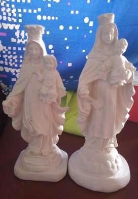 Virgenes,santos,alcancia entre otras en yeso