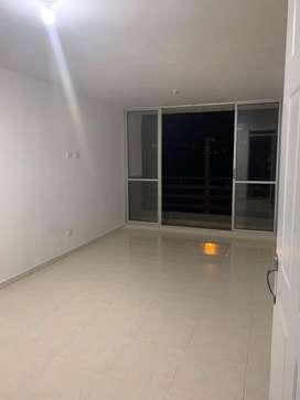Se arrienda apartamento de 3 habitaciones con closeth, 2 baños con calentador, cocina integral, cuarto de ropas y balcon