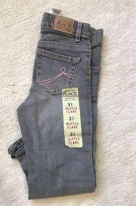 Jeans importado para niña Tala 3
