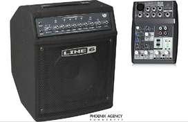 Amplificador Para Bajo Line 6 Ld 150 W - Con 5 Entradas