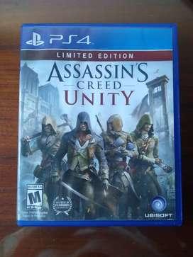 Assassin's Creed Unity usado ps4