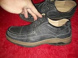 Zapatos de Cuero Vacuno de Hombre 39