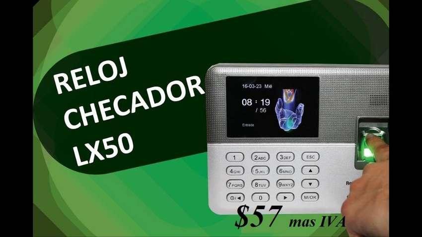 Reloj Biometrico Control De Asistencia Lector De Huella Lx50 0