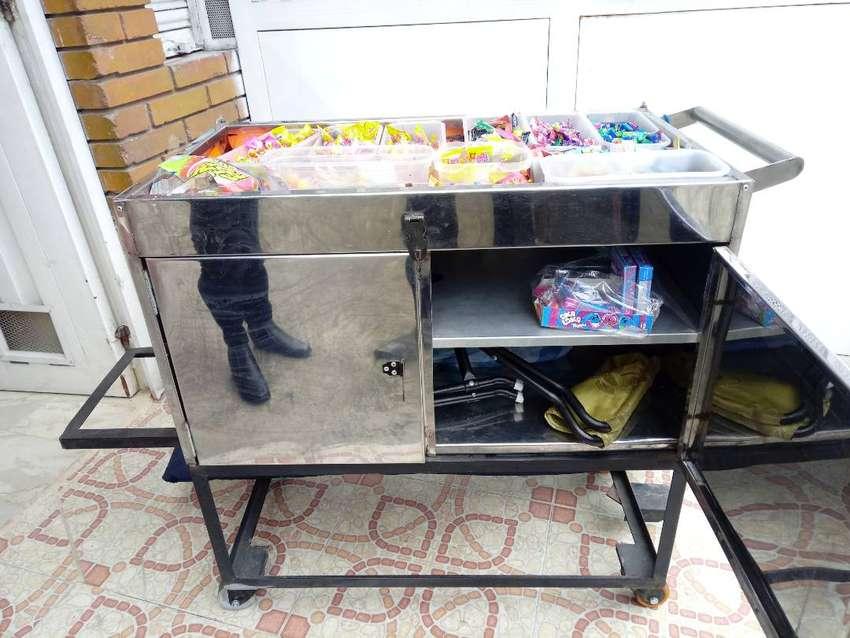 Carritos para vender dulces 0