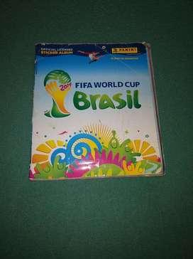 Album Panini Mundial 2014 Completo, con Fixture (resultados y países) y cartas del mundial