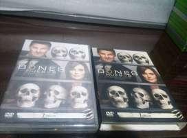 CAMBIO DVD ORIGINAL BONES HUESOS TEMPORADA CUATRO 7 DISCOS NUEVO SELLADO