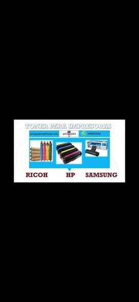 Tóner y tintas para impresora