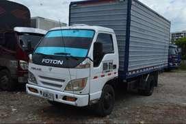 marca foton, recien reparado, tiene furgon, motor dieselcel