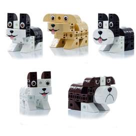 Coleccion Perros Pet Cubics x 5