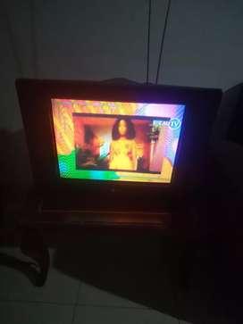 televisor LG de 21 pulgadas a color