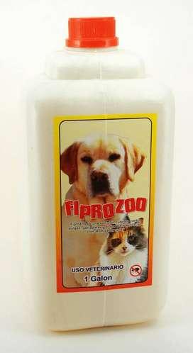 Spray Antipulgas Fiprozoo Original Galon Fipronil 0.25%