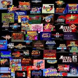 Juega 18 consolas y Maquinas de videojuegos arcade Y mas de 3.700 juegos Para Pc
