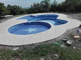 piscinas y fuentes