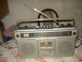 Radiograbador Sanyo M9922lu Japan Muy Buen Sonido Am/fm