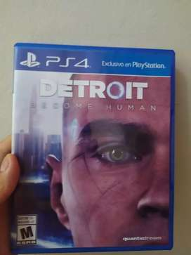 Juego DETROID BECOME HUMAN PS4