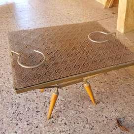 Mesa mesita ratona antigua porta ceniceros