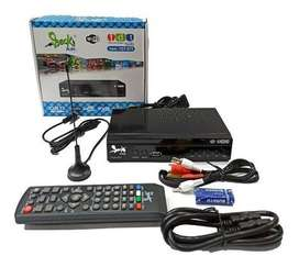 DECODIFICADOR TDT DVBT2 + ANTENA +HDMI  $ 59.900,00 Decodificador Tdt Dvbt2 + Antena +hdmi  Marca Beck play
