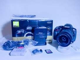 Camara Nikon D5300 Con Lente 16-55m.m, Memoria8gb