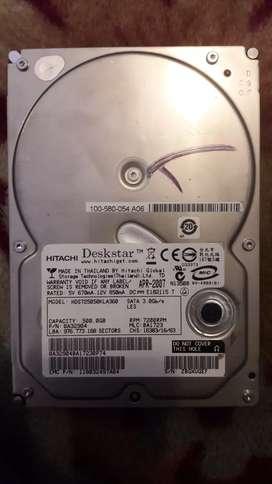 Disco duro hitachi 500 gb