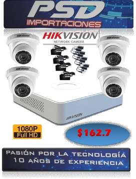 cámaras de seguridad 1080 hik visión