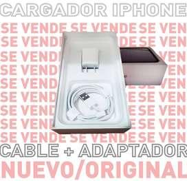 CARGADOR NUEVO ORIGINAL IPHONE