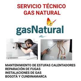 TÉCNICOS GAS NATURAL