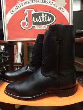 botas para equitacion marca justin importadas talla 12 us(33 cms)