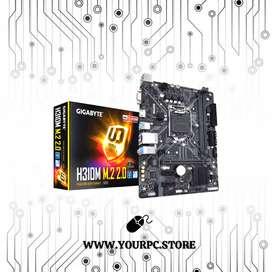 Board Gigabyte H310m M.2 2.0 Intel