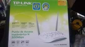 Nuevo :Punto De Acceso Inalámbrico N A 300 Mbps Tl-wa 801nd