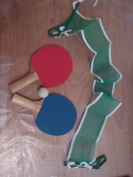Set de ping pong usado. Excelente estado.