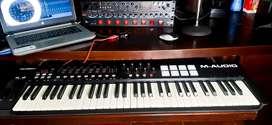 Piano M Audio Controlador Midi Oxygen 61