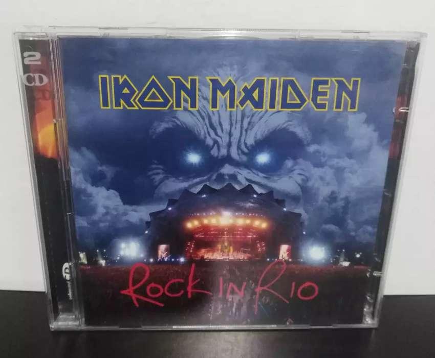 CD doble iron maiden americano