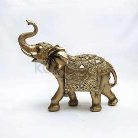 Elefante en porcelana