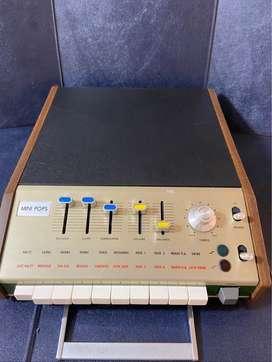Vendo Mini Pops 7 Caja Ritmo Analogico Sampler Armonico Sonido 1966 Usado