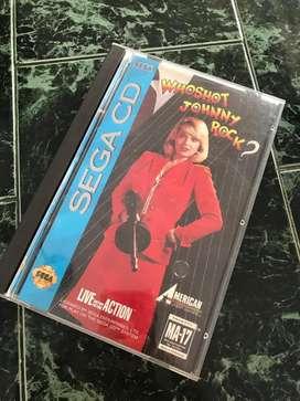 Who shot jhony rock Sega Cd snes nes atari wii neogeo xbox vita psp