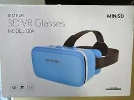 Gafas de realidad virtual 3D VR