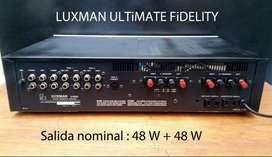Amplificador Luxman L-114A hi-fi japan vintage No Marantz Pioneer Technics Sony